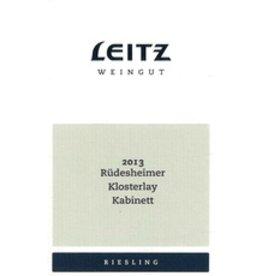 Riesling Leitz Weingut Riudesheimer Klosterlay Kabinet Riesling 2016 750ml