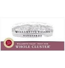 Pinot Noir Willamette Valley Vineyards Whole Cluster Pinot Noir 2017 750ml Willamette Valley Oregon