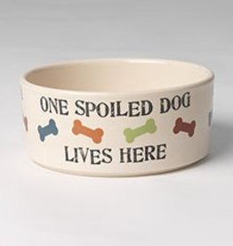 Petrageous Spoiled Dog Bowl 3.5 cups