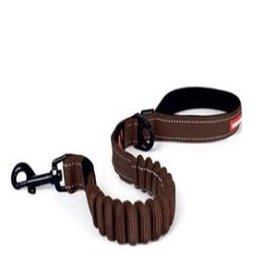 EzyDog Ezydog  Zero Shock Leash Chocolate 25""