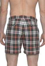 parke & ronen parke & ronen Green Plaid Shorts