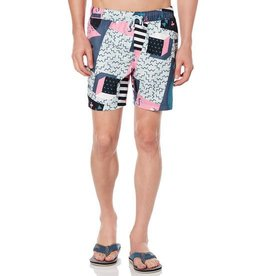 Penguin Penguin The 90's Volley Swim Trunks