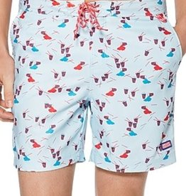 Penguin Penguin Slushie Print Swim Trunks