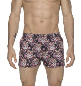 "parke & ronen Parke & Ronen Jungle Tiger 2"" Swim Trunk"