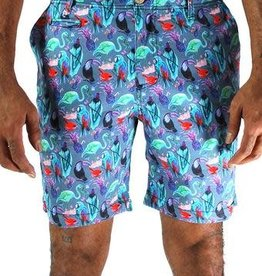 Oxford Lad Oxford Lad Short Bird Shorts