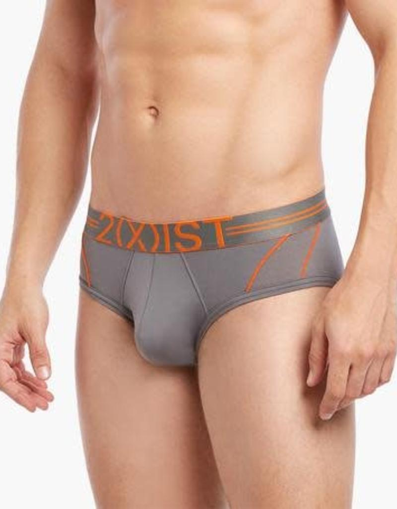 2(x)ist 2(X)IST Sport Mesh No-Show Brief
