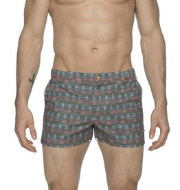 parke & ronen Parke & Ronen Pineapple Swim Trunk