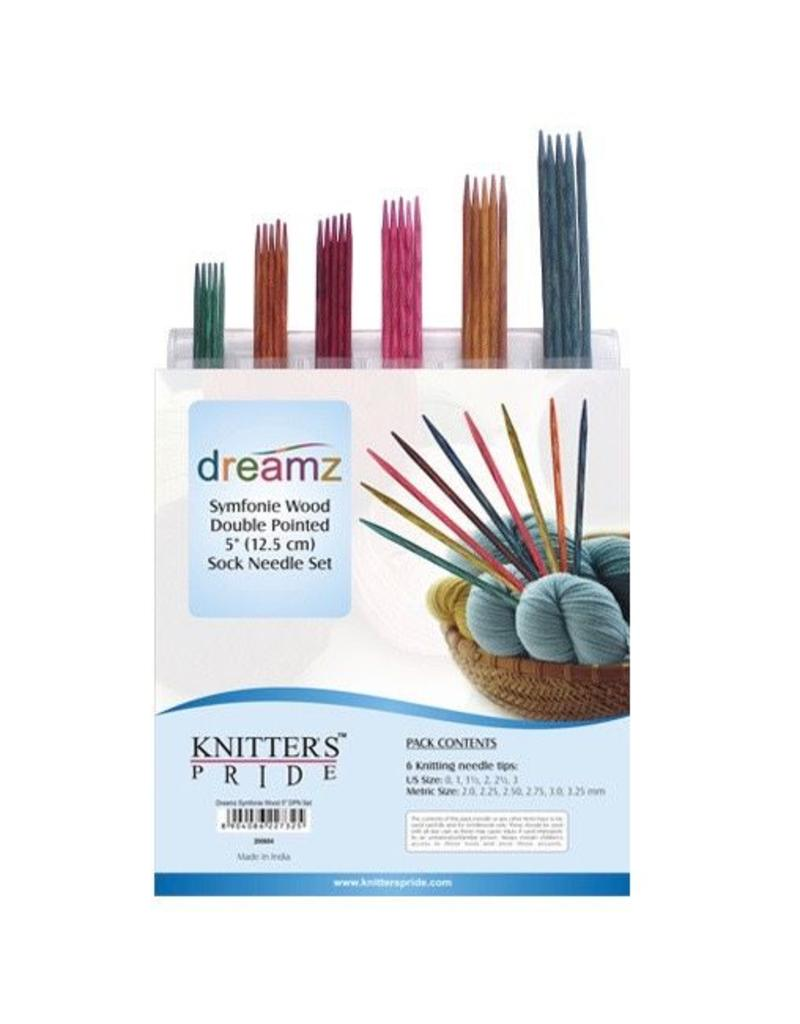 Knitter's Pride Knitters Pride Dreamz Double Pointed Sock Needle Set (6'')