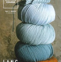 Lang Yarns Wool Addict Knitting Course Part 1 - Basic Book