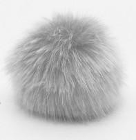 Rico Pompom 10cm - Silver