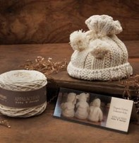 Appalachian Appalachian Baby Designs - Pom Pom Hat Knit Hat Kit