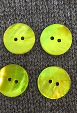 "Renaissance/Blue Moon *Buttons - Agoya, Yellow, 3/4"", 2cm"