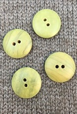 "Buttons, Etc. *Buttons - Wood, Green, 3/4"", 2cm"
