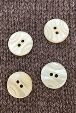 "Art of Yarn *Buttons - Shell, carved, 5/8"", 1.5cm"