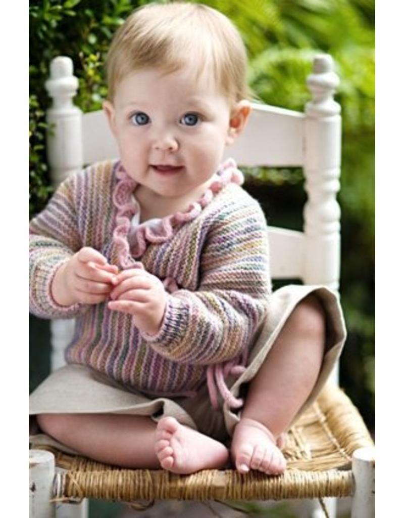 Churchmouse Yarns & Teas Churchmouse - Baby Wrap Sweater