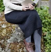 Churchmouse Yarns & Teas Churchmouse - Ribbed Pencil Skirt