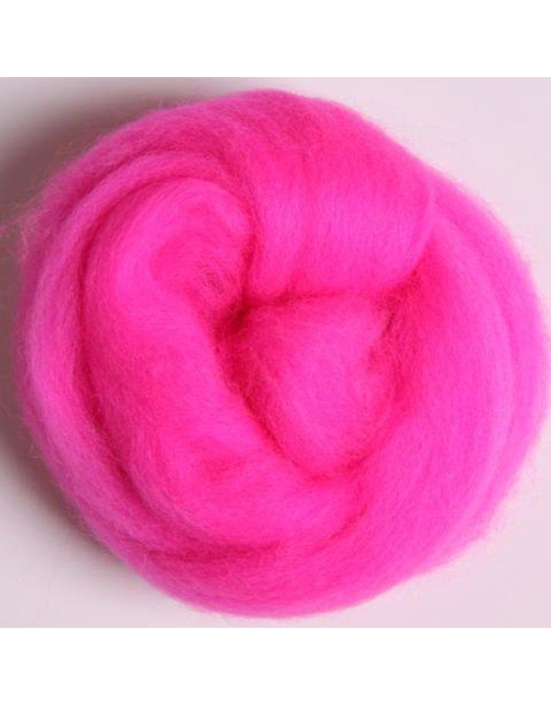 Harmonique Corriedale 100 G Pack - Fluorescent Pink