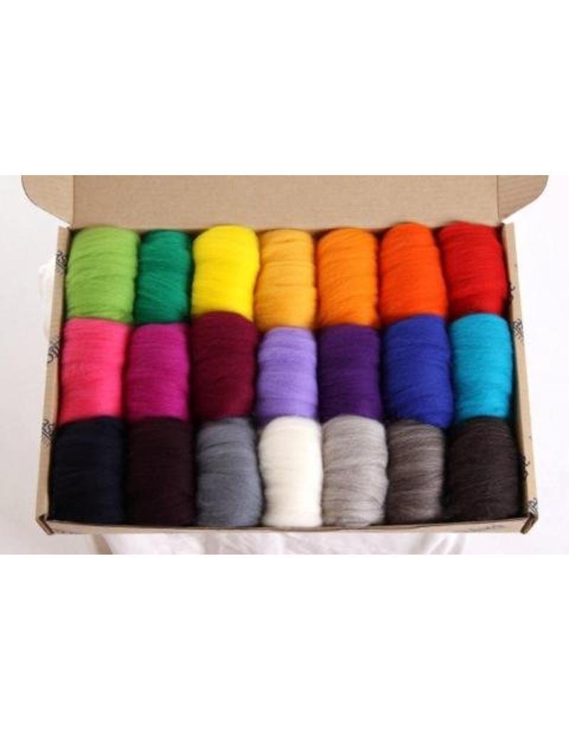 Harmonique Corriedale Colour Pack Sample Pack 2