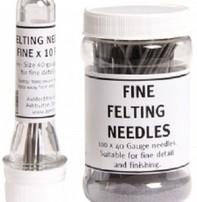 Harmonique Felting Needles - Pack Of 10 Size 40 Fine