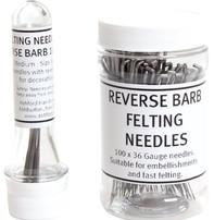 Harmonique Felting Needles Pack Of 10 - Reverse Barb