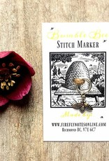Firefly Firefly Notes Stitch Marker - Bee