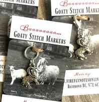 Firefly Firefly Notes Stitch Marker - Goat