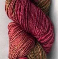 Hand Maiden Fleece Artist Tree Wool Sport - Red Maple