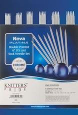 Knitter's Pride Nova Platina Double Pointed Sock Set (5'')
