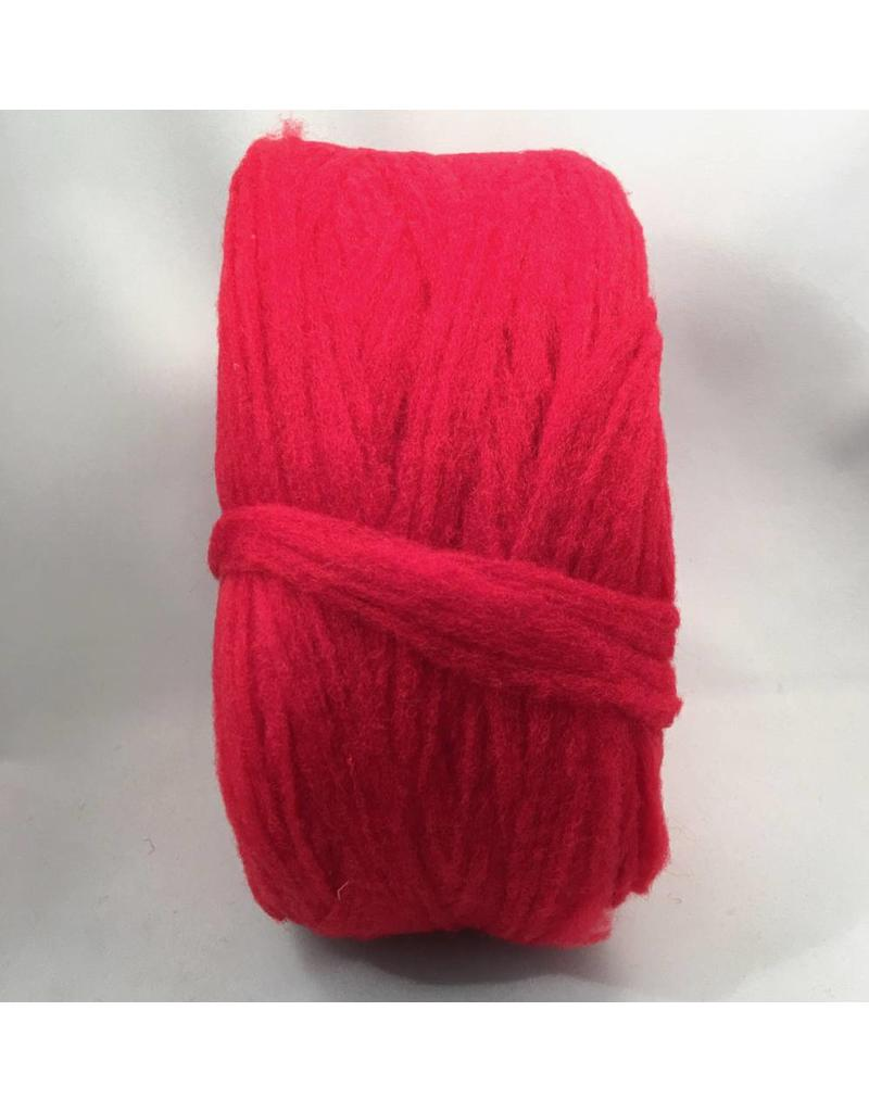 Custom Woolen Mills Prairie Wool Dyed Solid Red 16