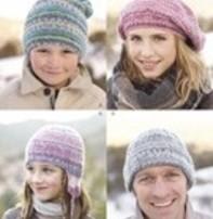 Sirdar Sirdar Design - Hats For The Family In Sirdar Crofter Dk