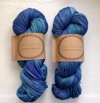 Lichen And Lace Lichen & Lace 80-20 Sock - Blue Lagoon