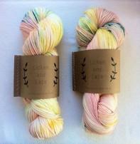 Lichen And Lace Lichen & Lace 80-20 Sock - I See Seashells