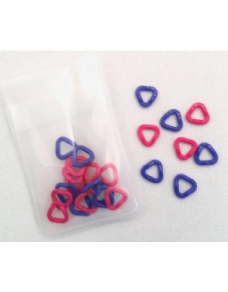 Clover Clover Stitch Markers, Triangle, extra small (3148)