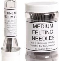 Harmonique Felting Needles - Pack Of 10 Medium Size 36