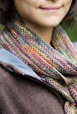 Churchmouse Yarns & Teas Churchmouse - Crocheted Linen-Stitch Scarf & Loop