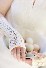 Churchmouse Churchmouse - Lace-Back Fingerless Gloves