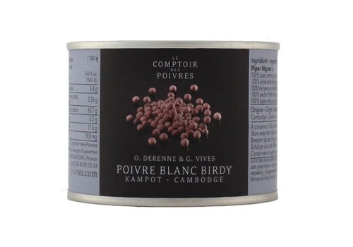 "White Birdy peppercorns ""Bird pepper"" 80g"