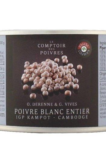 White Kampot PGI peppercorns - Cambodia 80g