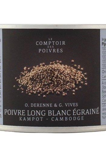 Long white seeded pepper from Kampot - Cambodia 70g
