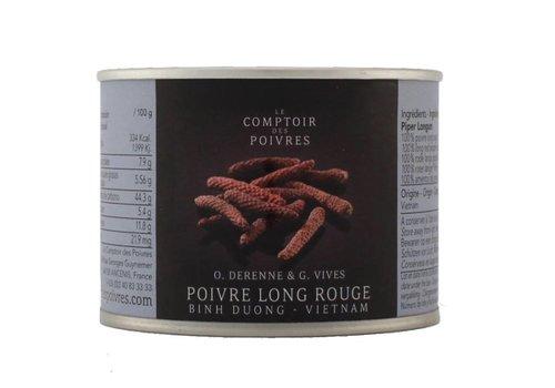 Poivre long rouge Binh Duong - Vietnam 80g