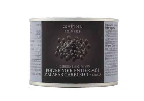 Poivre noir entier MG1 - Malabar 80gr