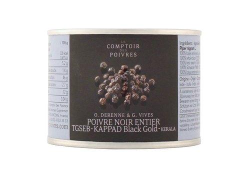 Poivre noir entier TGSEB KAPPAD Black Gold - 70g