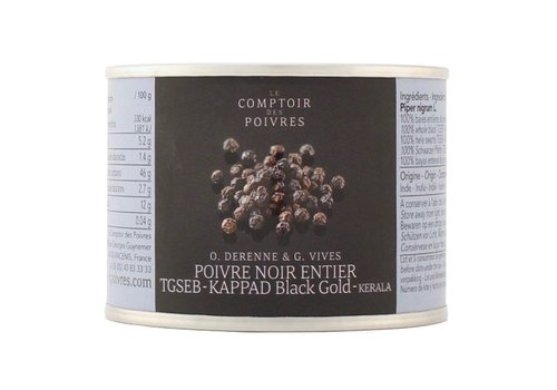 TGSEB Black peppercorns KAPPAD Black Gold - 70g
