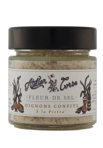 Flower of Salt Atelier Corse 90 gr Candied onions
