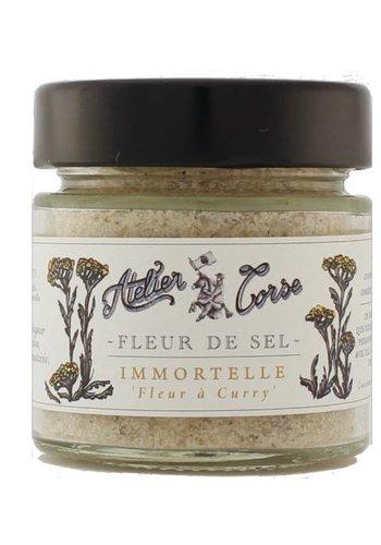 Fleur de sel  Immortelle Atelier Corse 90 gr