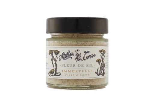 Fleur de sel Atelier Corse 90 gr Immortelle