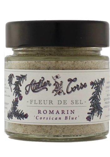 Fleur de sel Atelier Corse 90 gr Romarin
