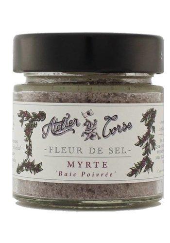 Fleur de sel Atelier Corse 90 gr Myrte