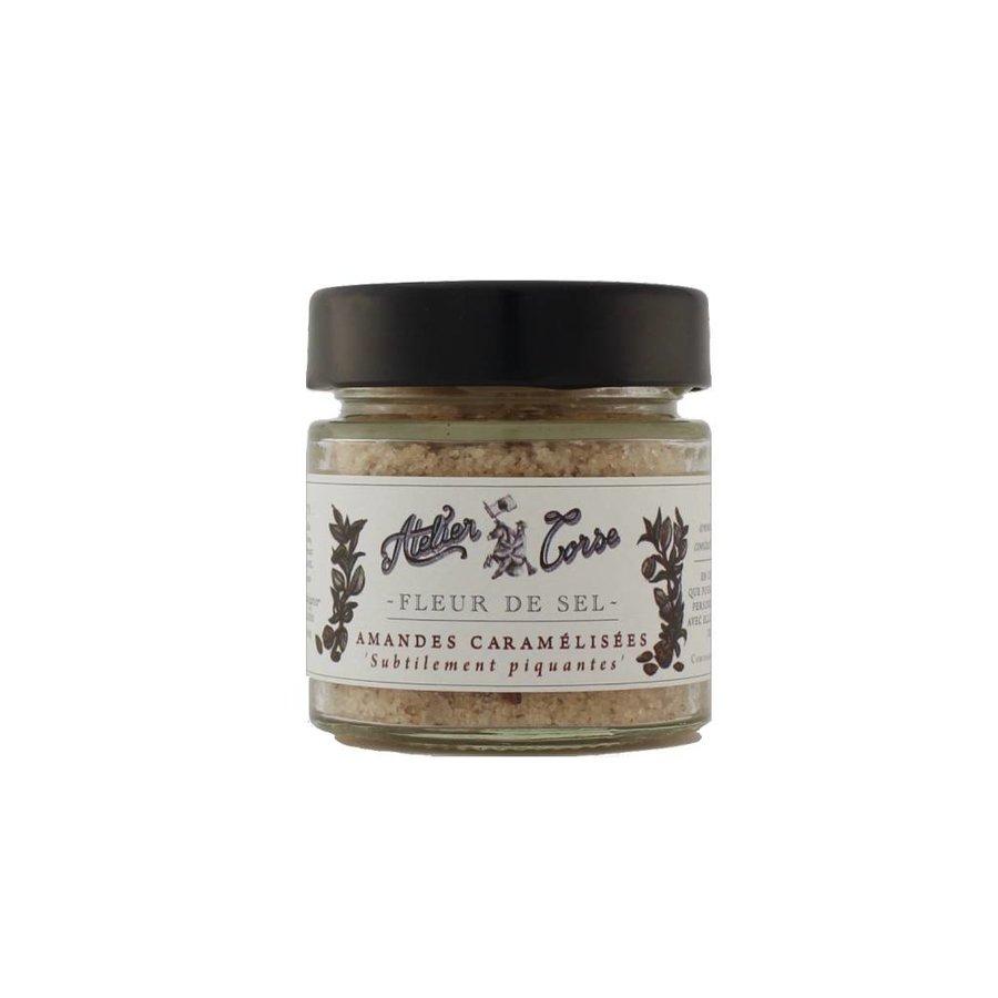 Flower of Salt Atelier Corse 90 gr Caramelized almonds