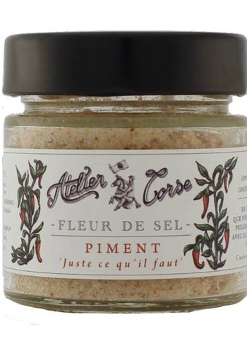 Flower of Salt Atelier Corse 90 gr Pepper
